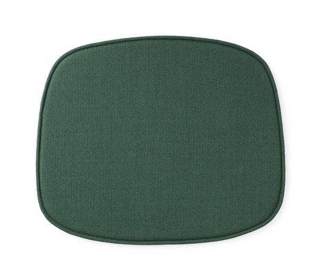 Normann Copenhagen Sitzkissen Form grün Textil 46x39x1cm
