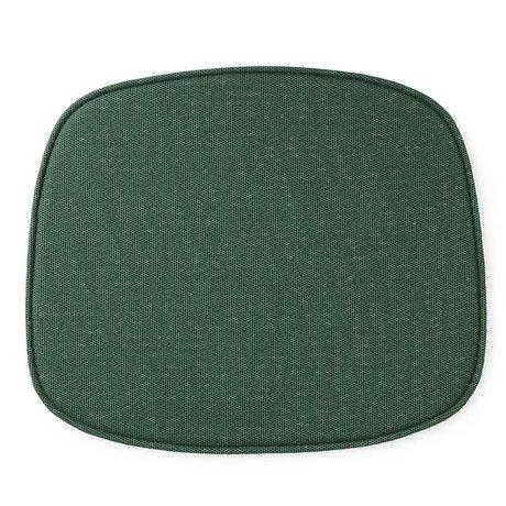 Normann Copenhagen 46x39x1cm forma de cojín textil verde