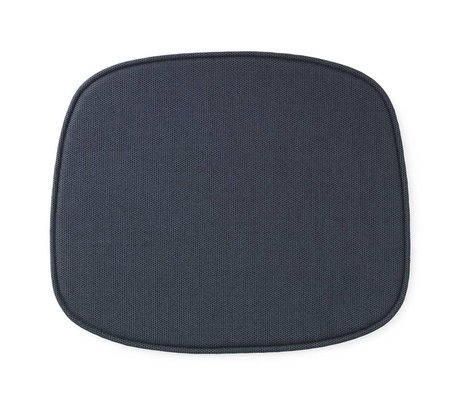 Normann Copenhagen Sæde formular blå tekstil 46x39x1cm