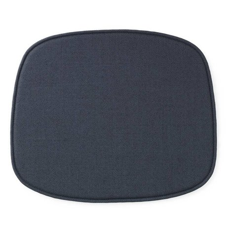 Normann Copenhagen Sitzkissen Form blau Textil 46x39x1cm