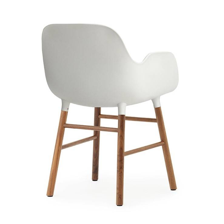 stol hvid plast
