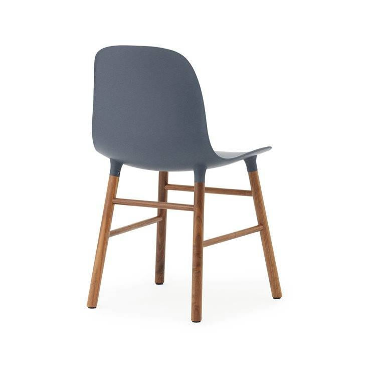 Normann Copenhagen modulo di sedia blu di plastica marrone ...