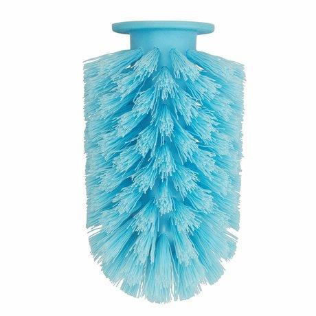 Normann Copenhagen Cepillo de cabeza Ballo azul Ø7,5x12,5cm plástico