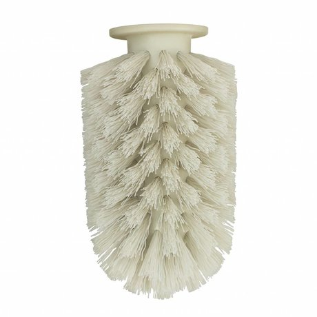 Normann Copenhagen Brush head Ballo gray plastic Ø7,5x12,5cm