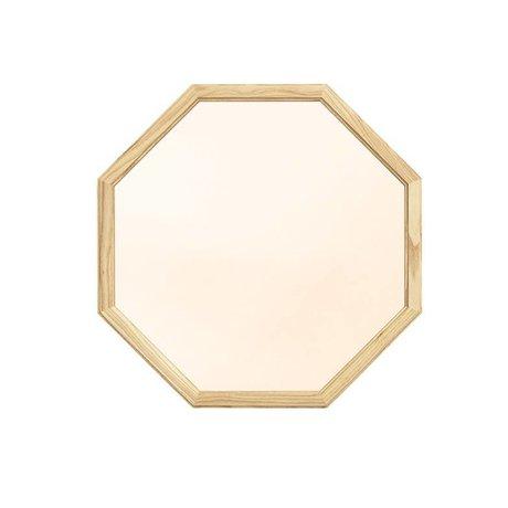 Normann Copenhagen altın cam ayna ahşap M 50x2,5x50cm gibi Duvar aynası