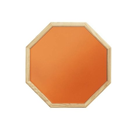 Normann Copenhagen Wall mirror Lust red Glass mirror wood M 50x2,5x50cm