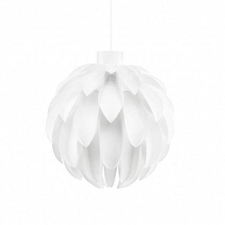Normann Copenhagen Hail lamp standard 12 white foil L Ø51x51cm