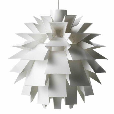 Normann Copenhagen Lampe suspendue Norm 69 film XXL Ø78x78cm blanc