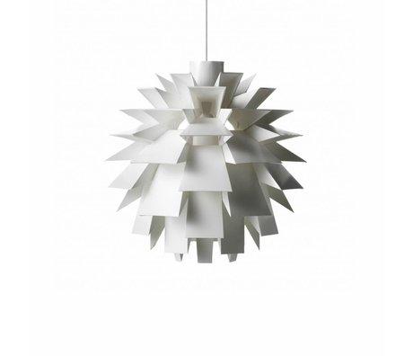 Normann Copenhagen Hail lamp standard 69 white foil L Ø51x51cm