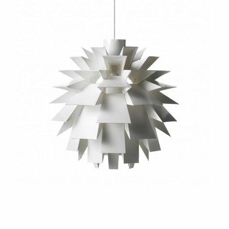 Normann Copenhagen Lampe suspendue Norm 69 film blanc L Ø51x51cm