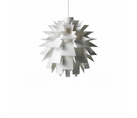 Normann Copenhagen Lampe suspendue Norm 69 film blanc S Ø42x42cm