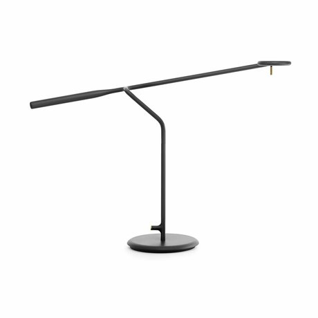 Normann Copenhagen Lampada da tavolo in metallo nero flusso 58x16x42cm