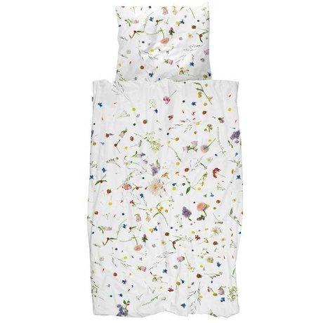 Yastık Çiçek Tarlaları çok renkli pamuk 60x70cm