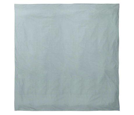 Ferm Living Duvet Silencio taubenblau 200x200cm algodón orgánico