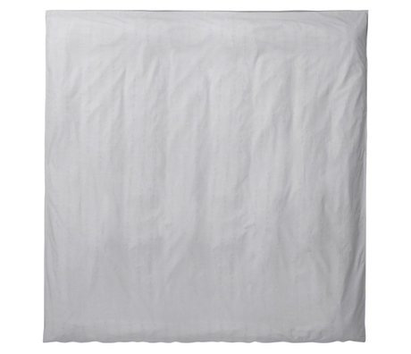 Ferm Living Duvet Hush light gray organic cotton 200x200cm