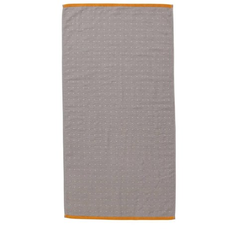 Ferm Living Sento towel gray organic cotton 50x100cm