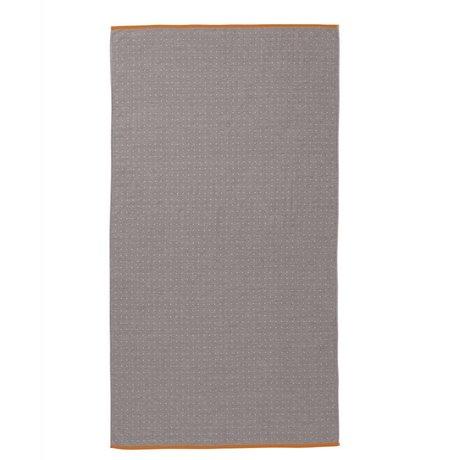 Ferm Living Havlu Sento gri organik pamuk 100x180cm