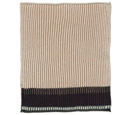 Ferm Living Akin coton rose torchon à vaisselle 34x70cm