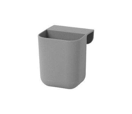 Ferm Living Sacs peu Architecte silicones gris 8x8,5x10cm