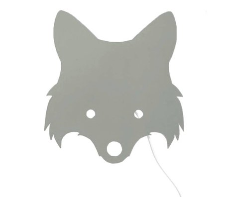 Ferm Living Lamba Fox Dusty grün 30x22,5cm kontrplak