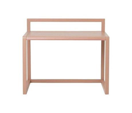 Ferm Living Schreibtisch Little Architect Rosa Eschenfurnier 70x45x60cm