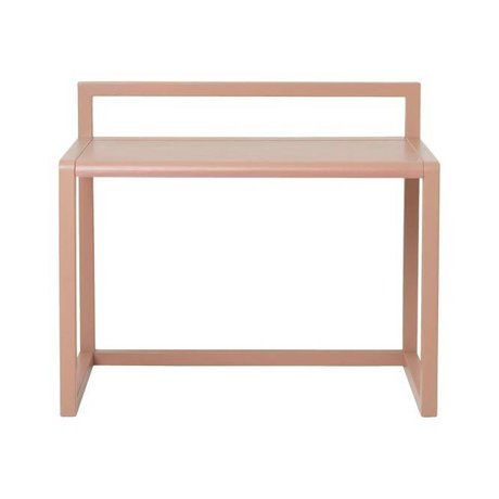 Ferm Living Poco escritorio Arquitecto Rosa Ash 70x45x60cm chapa