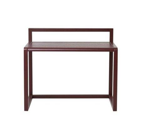Ferm Living Desk Little Architect Bordeaux ashtray 70x45x60cm