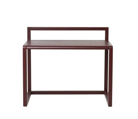 Ferm Living Desk Piccolo Architetto Bordeaux impiallacciato Frassino 70x45x60cm