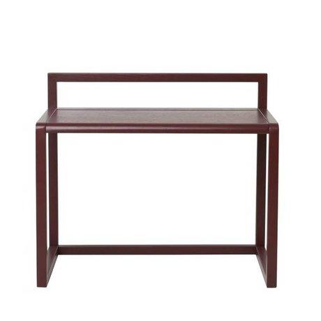 Ferm Living Desk Lille Arkitekt Bordeaux Askefinér 70x45x60cm