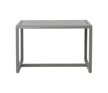 Ferm Living Petite table Architecte gris placage de frêne 76x55x43cm