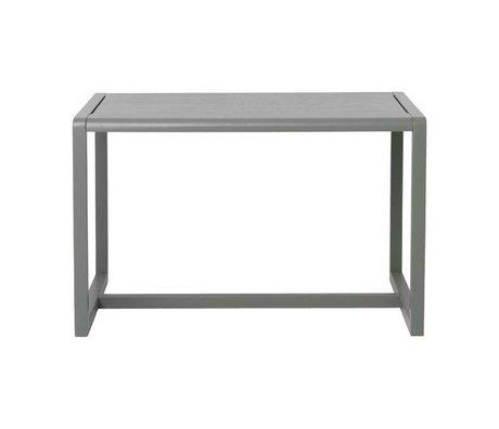 Ferm Living Petite table Architecte gris placage de frêne 76x55x43cm