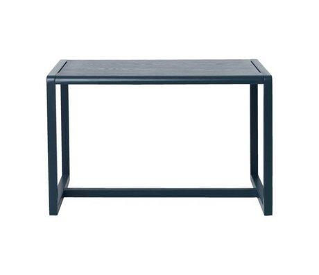 Ferm Living Petites tables Architecte placage de frêne bleu foncé 76x55x43cm
