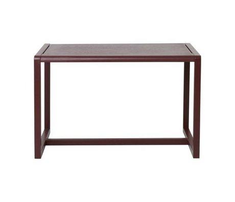 Ferm Living Tavolini Architetto Bordeaux impiallacciato Frassino 76x55x43cm