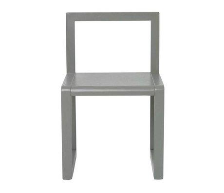 Ferm Living Chaise Petite Architecte bois gris 32x51x30cm