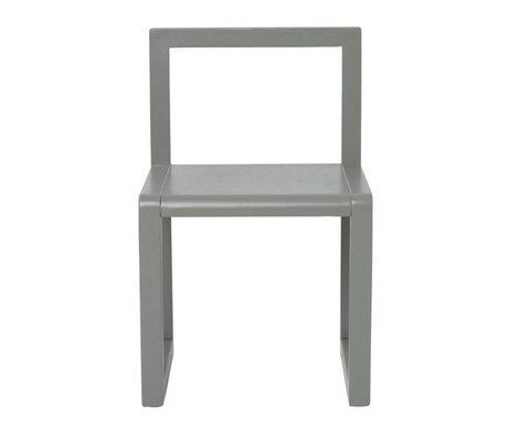 Ferm Living Sandalye Küçük Mimar gray ash kaplama 32x51x30cm