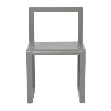 Ferm Living Chair Little Architect gray wood 32x51x30cm