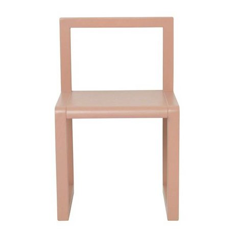 Ferm Living Chair Little Architect pink ash veneer 32x51x30cm
