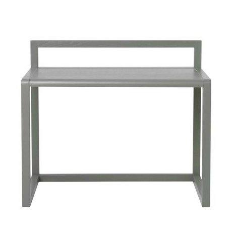 Ferm Living Petit bureau Architecte placage de frêne gris 70x45x60cm