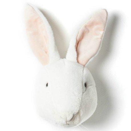 Wild and Soft Tier Kaninchen Alice weiß Textil 30x25x45cm