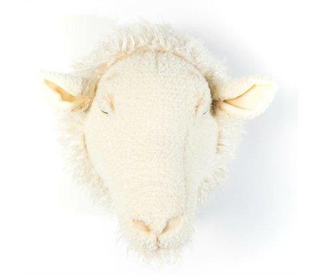 Wild and Soft Tier Schafe Harry weiß Textil 29x25x28cm