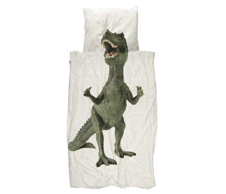 Snurk Beddengoed Duvet Dino multicolor cotton 140x200 / 220cm