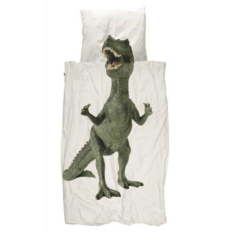 Snurk Beddengoed Duvet Dino cotone multicolore 140x200 / 220 centimetri