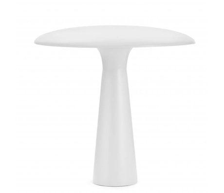 Normann Copenhagen Masa lambası Barınak beyaz çelik Ø41x41cm