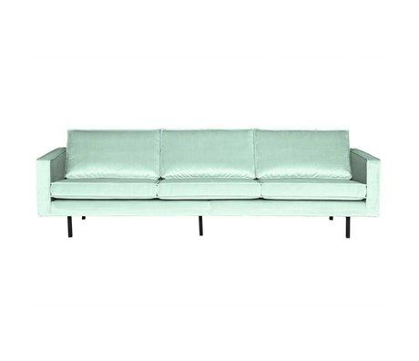 BePureHome 3-personers sofa Rodeo mintgrøn fløjl 78x274x87cm