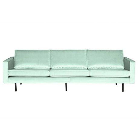 BePureHome 3-Sitzer-Sofa Rodeo mintgrün Samt 78x274x87cm
