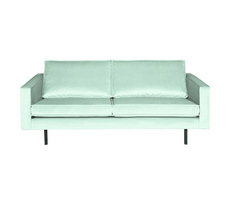 BePureHome Bank Rodeo 2.5-seat mint green velvet 190x86x85cm
