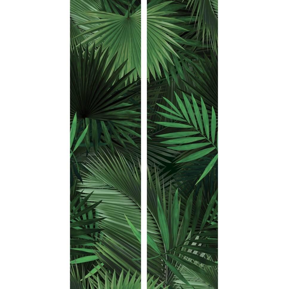 kek amsterdam fond d 39 cran feuille de palmier tropical papier non tiss vert 97 4x280cm. Black Bedroom Furniture Sets. Home Design Ideas
