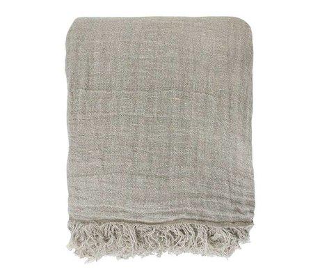 HK-living Beds Leek natural linen linen 270x270cm
