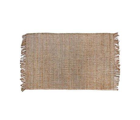 HK-living Carpet natural brown sack 120x180cm