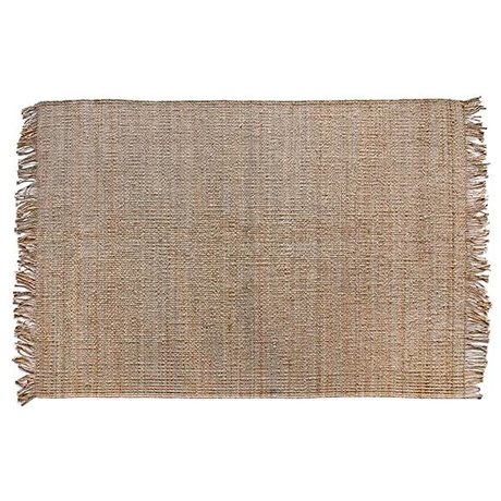 HK-living Tæppe naturlig brun Jute 200x300cm